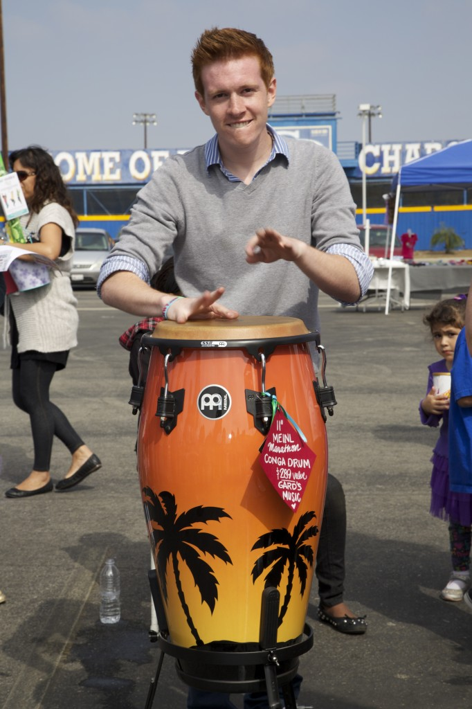 Saving the BEST for last. Kevin Rose, lead singer of Who's Clayton WINS the Conga Drum!! PERFECT!