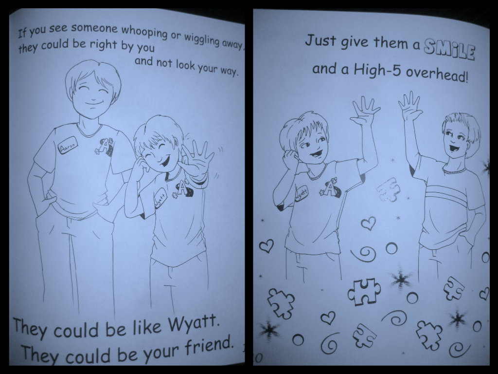 """Make Friends"" with what you don't understand!~Making Friends with Autism Coloring Books~"