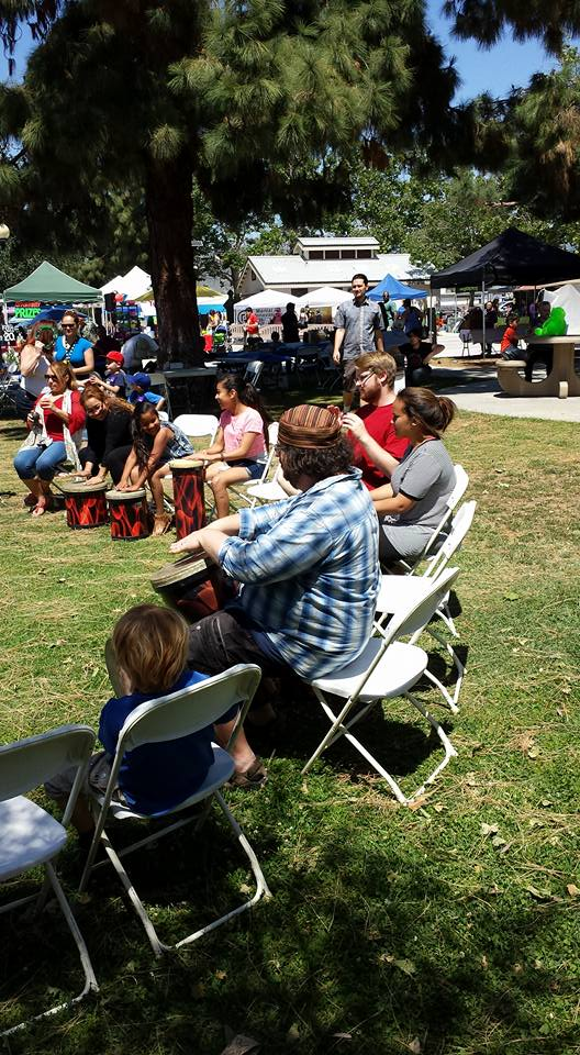 The Remo Drum Circle care of RMC North Hollywood is always a HIT!