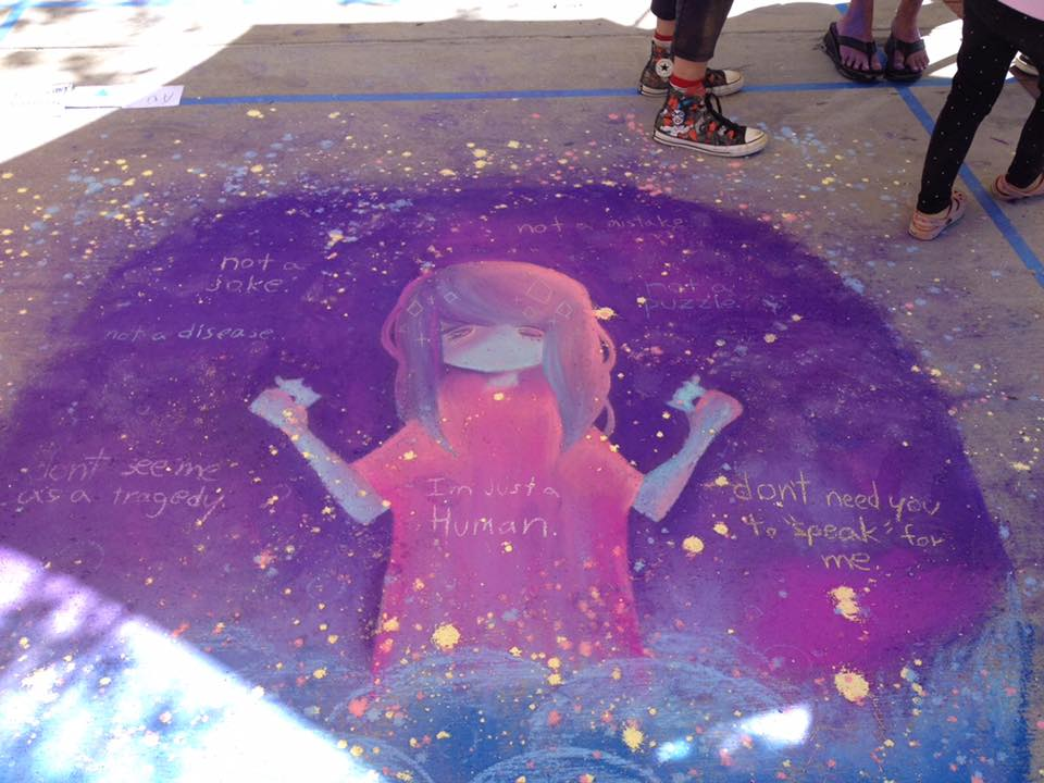 Carissa Paccerelli chalked up her 3rd Autistic Pride Design Award!!