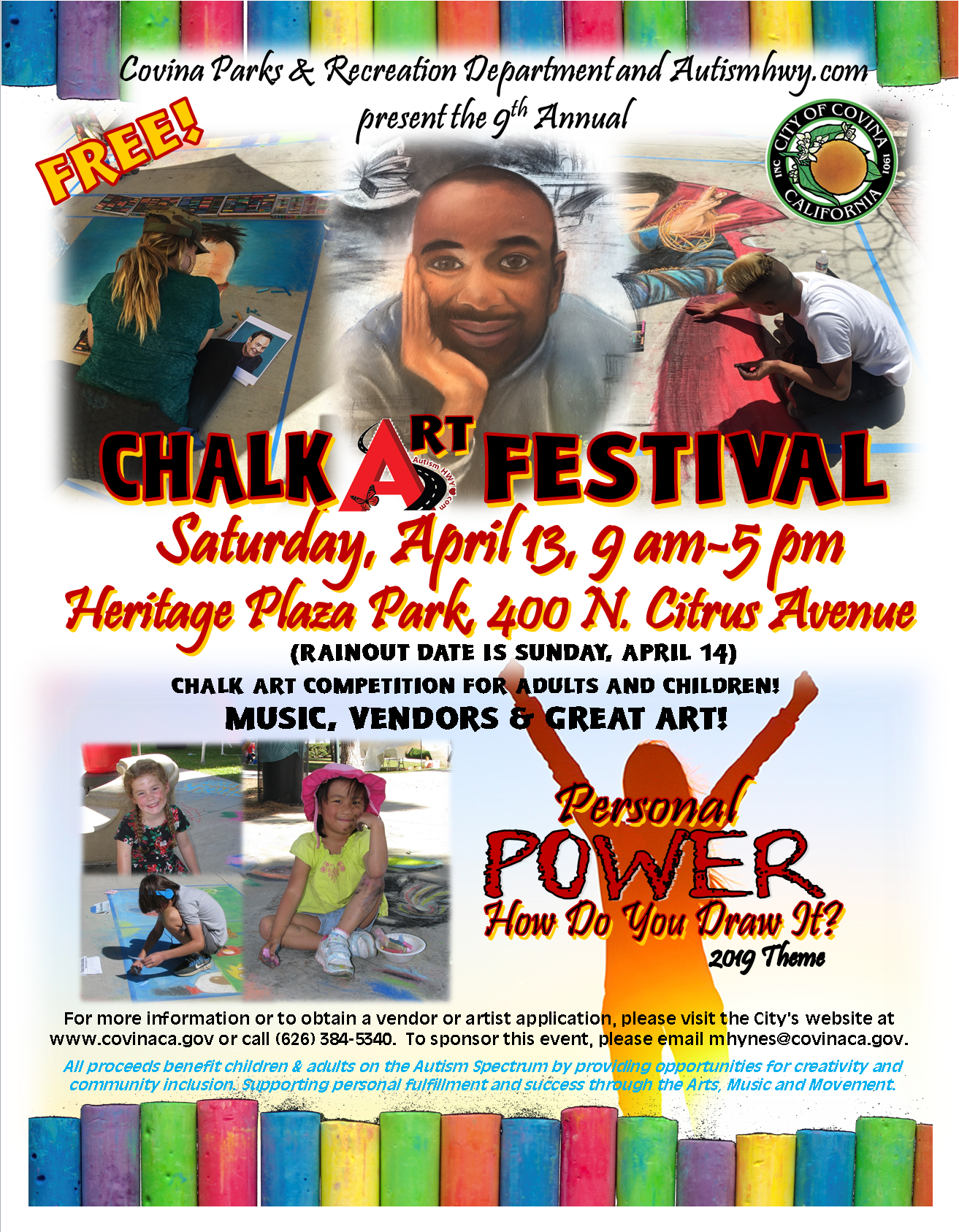 2019 Chalk Art Festival - Spring Covina Today